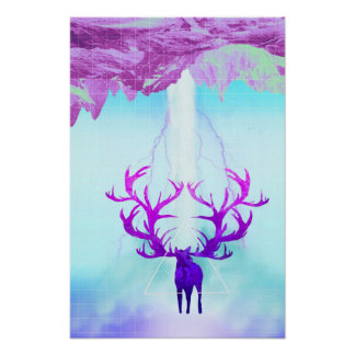 Stag Falls Poster