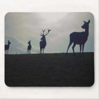 stag family mouse pad