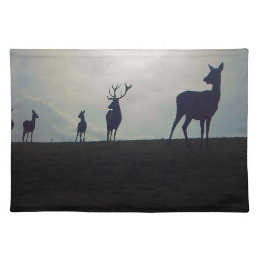 STAG FAMILY PLACE MAT