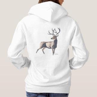 Stag hoodie