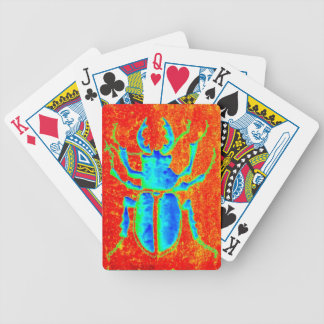 Stag Horned Beetle by Sharles Bicycle Playing Cards