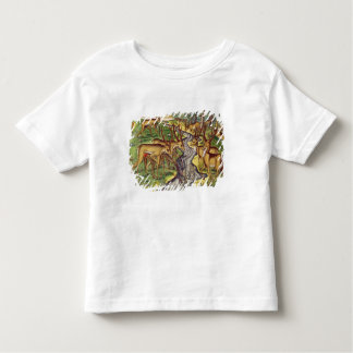 Stag Hunt, from 'Brevis Narratio' T-shirt