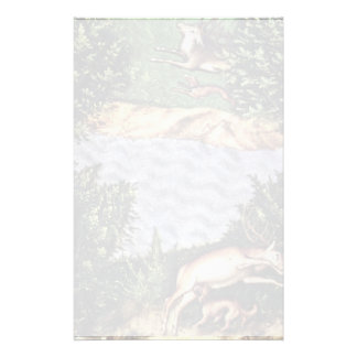 Stag Hunt Of The Elector Frederick The Wise Detail Custom Stationery