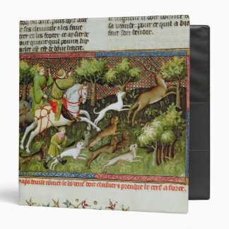 Stag Hunting from the Livre de la Chasse Binders