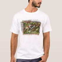 Stag Hunting, from the Livre de la Chasse T-Shirt