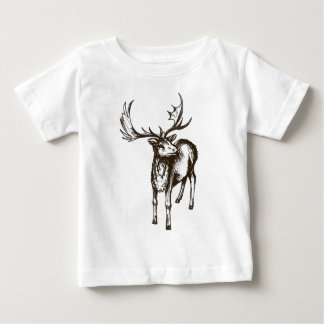 Stag illustration baby T-Shirt