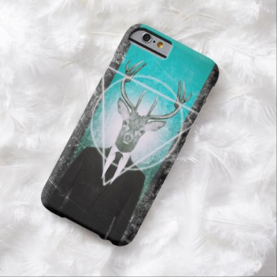 Stag in suit barely there iPhone 6 case