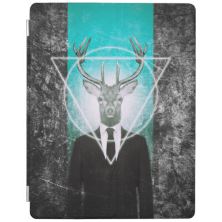 Stag in suit iPad cover
