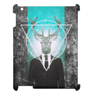 Stag in suit case for the iPad