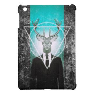 Stag in suit iPad mini cover