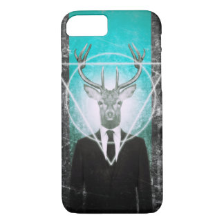 Stag in suit iPhone 7 case