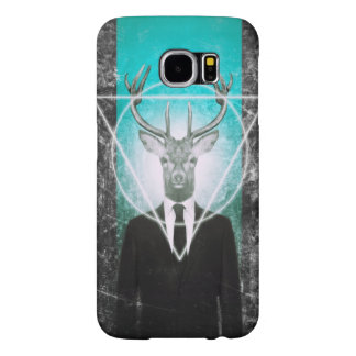 Stag in suit samsung galaxy s6 case