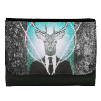 Stag in suit wallets