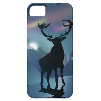 Stag in the Aurora iPhone SE/5/5s Case