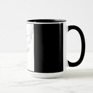 Stag Mug Word Cloud Design