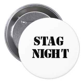 """""""Stag Night"""" design badges Button"""