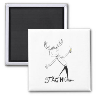 STAG NIGHT MAGNET