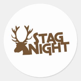 STAG night! Sticker