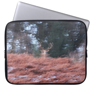 Stag on a hill laptop sleeve