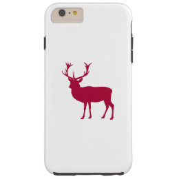 Stag or Bacherlor's Party - European Red Deer Tough iPhone 6 Plus Case
