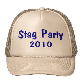 Stag Party 2010 Trucker Hat