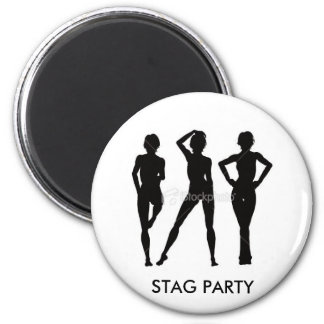 STAG PARTY Badge Magnet