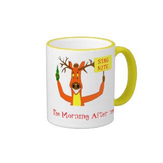 Stag Ringer Mug