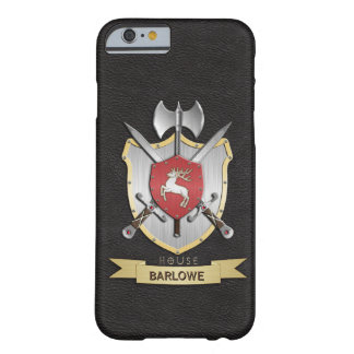 Stag Sigil Battle Crest Black Barely There iPhone 6 Case