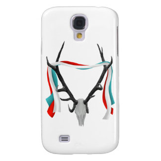 Stag Skull With Trophy Antlers Samsung Galaxy S4 Cover
