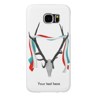 Stag Skull With Trophy Antlers Samsung Galaxy S6 Case