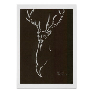 STAG STALKING POSTER