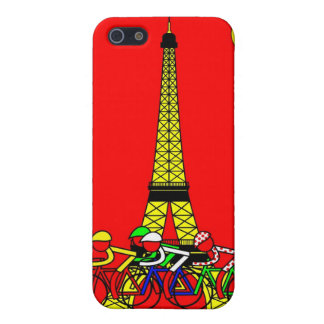 Stage 21 - The Eiffel Tower in Yellow Cover For iPhone SE/5/5s