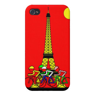 Stage 21 - The Eiffel Tower in Yellow iPhone 4/4S Case