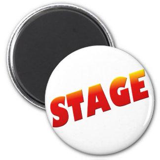 stage 2 inch round magnet
