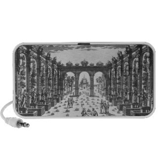 Stage by Giacomo Torelli  for 'Venere Gelosa' Travelling Speaker