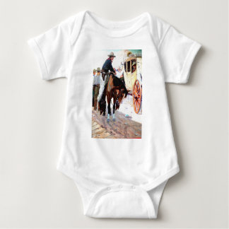 Stage Coach Baby Bodysuit