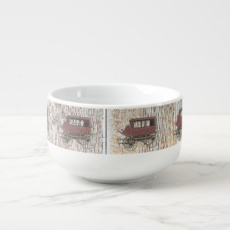 STAGE COACH SOUP MUG