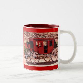 Stage Coach Two-Tone Coffee Mug
