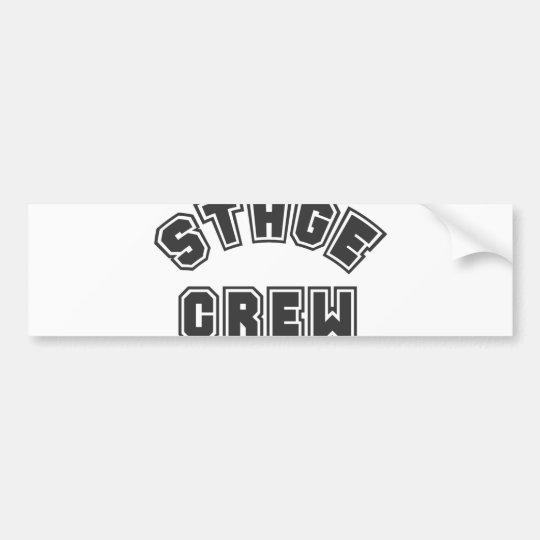 Stage Crew Bumper Sticker