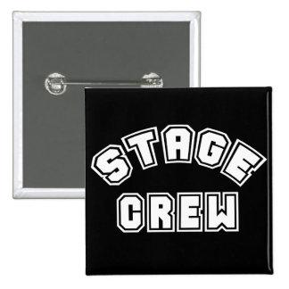 Stage Crew 2 Inch Square Button