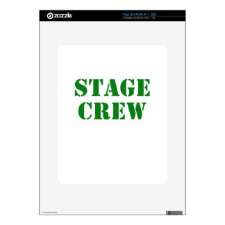 Stage Crew Decal For The iPad