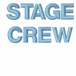STAGE CREW Hoodie Full-Zip Embroidered