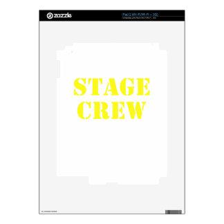 Stage Crew iPad 2 Skin