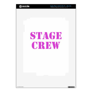 Stage Crew iPad 3 Decals
