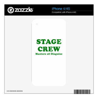 Stage Crew Masters of Disguise Skin For iPhone 4