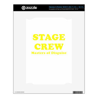 Stage Crew Masters of Disguise Skins For NOOK