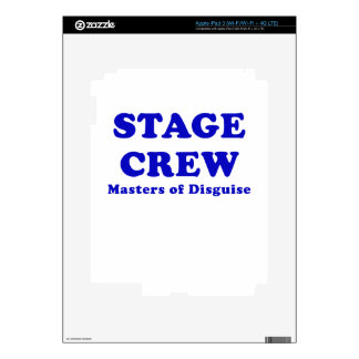 Stage Crew Masters of Disguise Decal For iPad 3