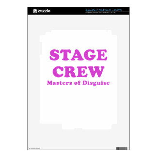 Stage Crew Masters of Disguise iPad 3 Decals