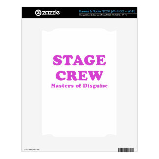Stage Crew Masters of Disguise Skin For NOOK