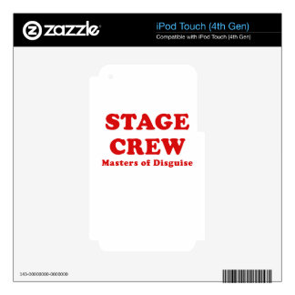 Stage Crew Masters of Disguise Skin For iPod Touch 4G